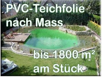 PVC Teichfolie für den modernen Gartenteich