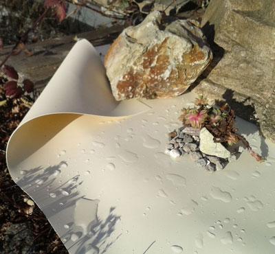 PVC Teichfolie Sand