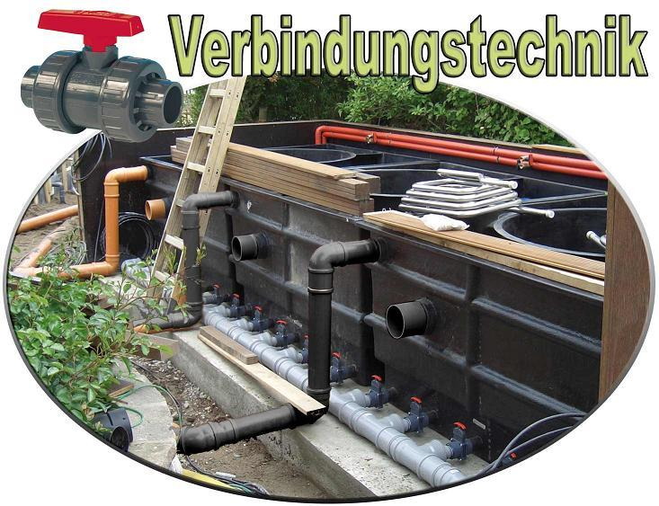 Verbindugstechnik Teichbau