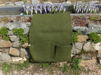 Pflanztasche mit 2 Taschen