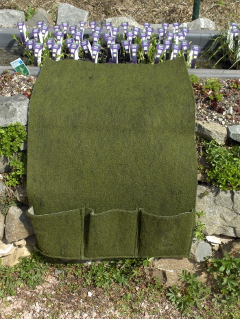Pflanztasche mit 3 Taschen