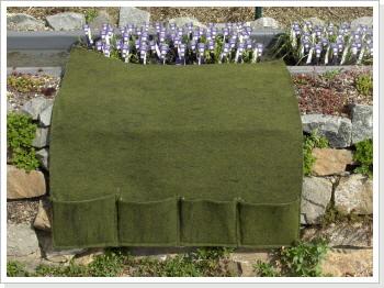 Pflanztasche mit 4 Taschen